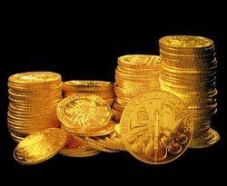 Монеты порча снять
