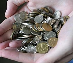 Горсть монет