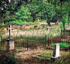 Магия на кладбище